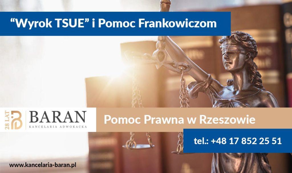 Wyrok TSUE Pomoc frankowiczom