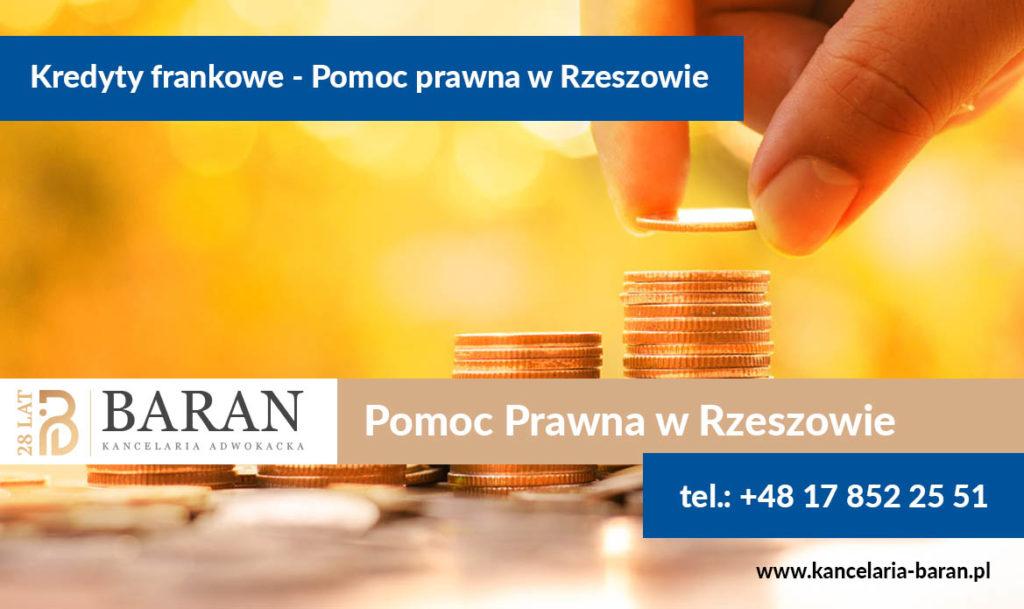 Kredyty frankowe Rzeszów