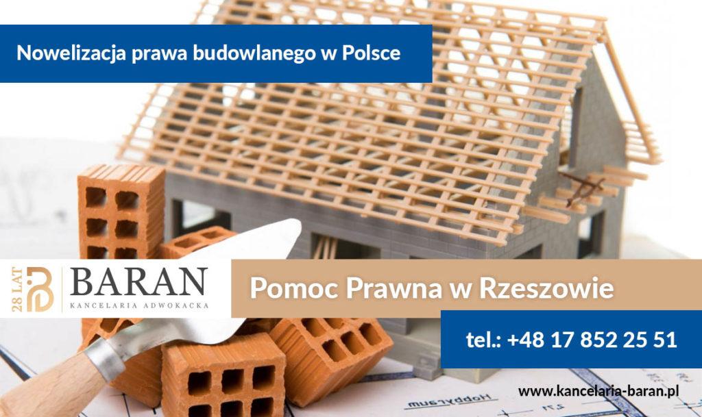 Nowelizacja Prawa budowlanego w Polsce